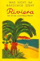 Mann,Erika/ Mann, Klaus - Riviera