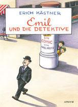 ab 6 Jahren / Erich Kästner / Isabel Kreitz: Emil und die Detektive. Ein Comic von Isabel Kreitz.