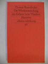 Rosenlöcher, Thomas - Die Wiederentdeckung des Gehens beim Wandern, Harzreise