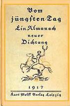 Vom jüngsten Tag - Almanach 1917