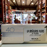 MOKA  40 capsules aluminium