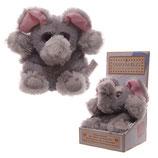 Kuscheltiere Wärmetier für die Mikrowelle Elefant