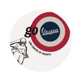 VESPA RUNDES BLECH-REKLAMESCHILD - GO VESPA