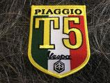 Vespa Aufnäher Piaggio T5