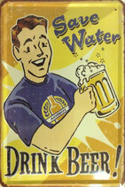 Drink Beer! Save water