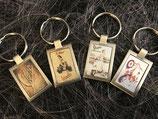 Schlüsselanhänger Vespa Vintage diverse