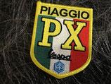 Vespa Aufnäher Piaggio PX gelb