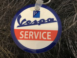Schlüsselanhänger Vespa Service rund
