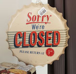 Sorry - We`re Closed