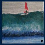 Wandfliese: Bedruckte Kacheln - Surfer