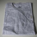 T-Shirt * Herren * grau * B&C * Größe: XL * mit goldener Stickerei: Sylt