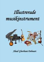 Illustrerade musikinstrument av Ahad Ghorbani Dehnari