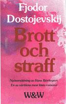 Brott och straff av Fjodor Dostojevskij