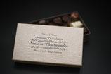 Boîte de 25 bonbons de chocolats environs 250g