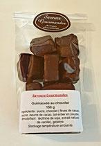 Guimauves au chocolat noir