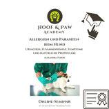 OnlineSeminar - Allergien und Parasiten beim Hund