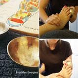 Massage des pieds au Bol Kansu - 30 min