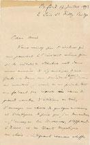 Albert Cahen, mélodie de Schubert
