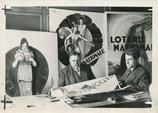 Loterie nationale : Jules Guiraud et M. Vico : 2 photographies d'époque, 1930 et 1933