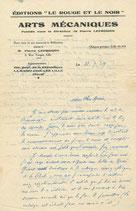 Pierre Leprohon, 2 lettres