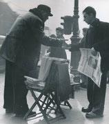 Le vendeur de journaux à Paris, affaire Gaston Dominici, 1952.