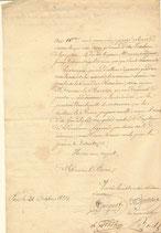 Document signé Plantade...