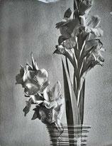 Composition au vase de fleurs