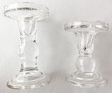 Kerzenständer Glas edel