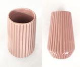 Riffle Vase rosé