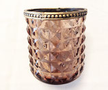 Teelichtglas Diamond