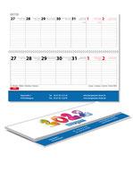 Tischquerkalender 2022