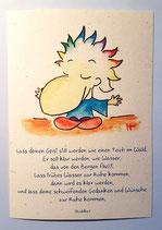 "Postkarte ""Ruhe"""