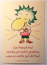 """Postkarte """"Gefühlt"""""""