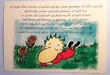 """Postkarte """"Mit Pflanzen sprechen"""""""