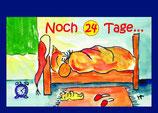 """Adventskalender-Büchlein """"Noch 24 Tage"""""""