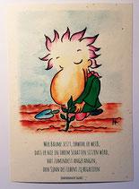 "Postkarte ""Sinn des Lebens"""