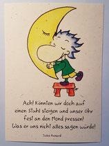 """Postkarte """"Mond"""""""