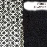 """Essuie-tout lavable et réutilisable"""" Etoile blanche"""""""