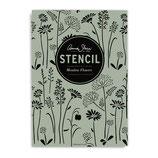 Annie Sloan Stencil  Meadow Flowes - Schablone Blumenwiese A3 Design