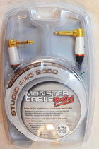 "MONSTER CABLE STUDIO PRO 2000 ""SP2000-I-0.75DA"""