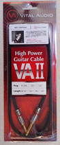 VITAL AUDIO VAⅡ -High Power Guitar Cable-【S/S 1m】