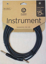 Classic Series Instrument Cables PW-CGT-15【15ft. Single Conductor】