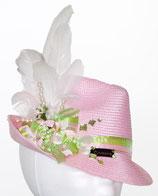 Clamare Trachtenhut rosa/grün