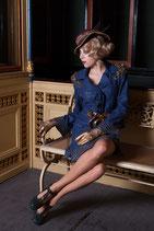 Clamare Lederhandschuhe gold