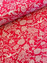 Jacquard- Strick pink