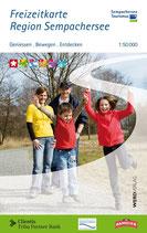 Freizeitkarte Region Sempachersee