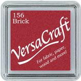 "Encre Versacraft rouge marron ""Brick"""