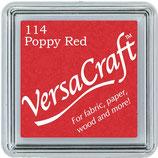 "Encre Versacraft rouge ""Poppy Red"""