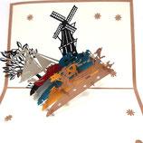 Pop-up kaart Holland