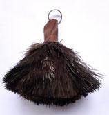 Sleutelhanger struisvogelveren